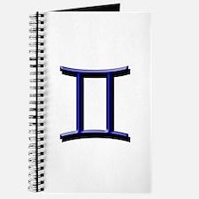 Gemini Blue Journal