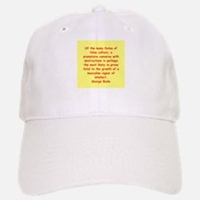 George Boole quote Baseball Baseball Cap