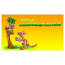 Kangoalaplatybat Poster