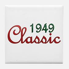 Unique Vintage 1949 Tile Coaster