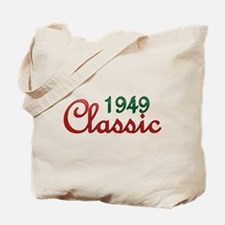 1949 birthday Tote Bag