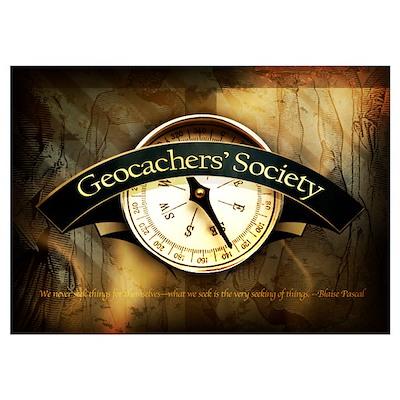 Geocachers' Society Poster