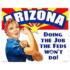 Job Feds Won't Do Poster