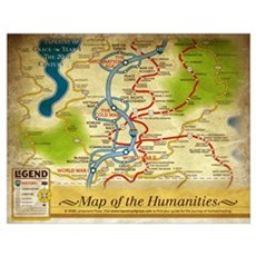 Year 4 Map of the Humanities Poster