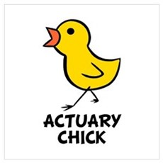 Actuary Chick Poster