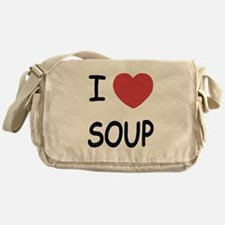 I heart soup Messenger Bag
