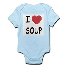 I heart soup Infant Bodysuit