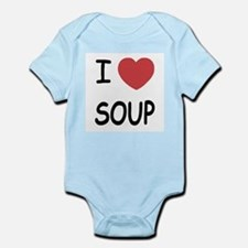 I heart soup Infant Bodysuit