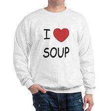 I heart soup Sweatshirt
