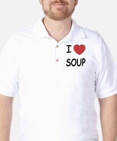 I heart soup Golf Shirt