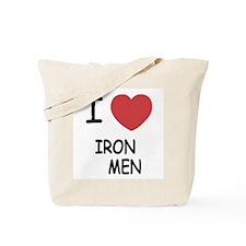 I heart iron men Tote Bag