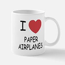 I heart paper airplanes Mug