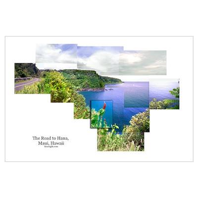 Road to Hana, Maui Poster