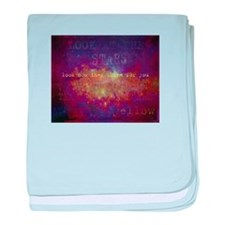 Look At The Stars baby blanket
