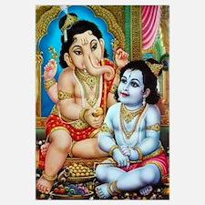 Ganesha and Krishna Un
