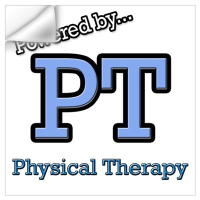 Physical Therapy Wall Decal