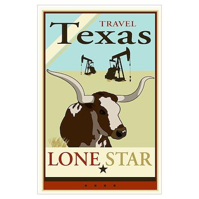 Travel Texas Poster