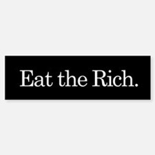 Eat the Rich, Sticker (Bumper)