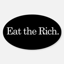 Eat the Rich, slogan, Decal