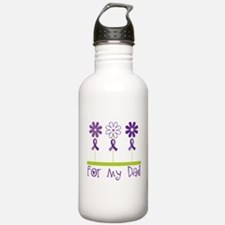 Alzheimers For My Dad Water Bottle