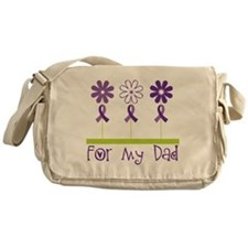 Alzheimers For My Dad Messenger Bag