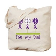 Alzheimers For My Dad Tote Bag