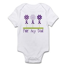Alzheimers For My Dad Infant Bodysuit
