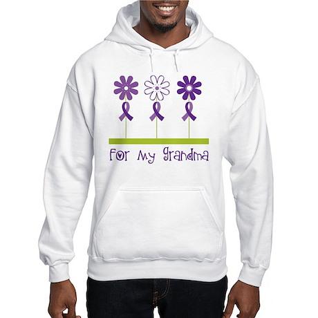 Alzheimers For My Grandma Hooded Sweatshirt