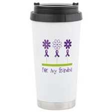 Alzheimers For My Grandma Travel Mug