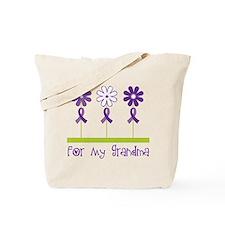 Alzheimers For My Grandma Tote Bag