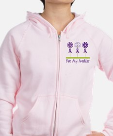 Alzheimers For My Mother Zip Hoodie