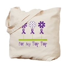 Alzheimers For My Pop Pop Tote Bag