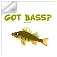 Got Bass Fishing Wall Decal