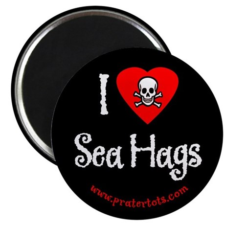 I (heart) Sea Hags Magnet