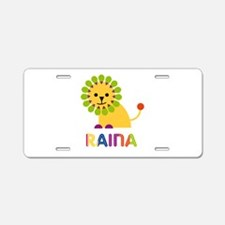 Raina the Lion Aluminum License Plate