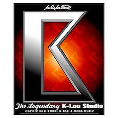 K-Lou Studio - Big Red - Logo 16x20 Poster