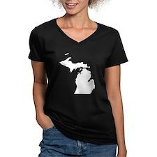 Michigan Map Shirt