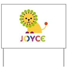 Joyce the Lion Yard Sign