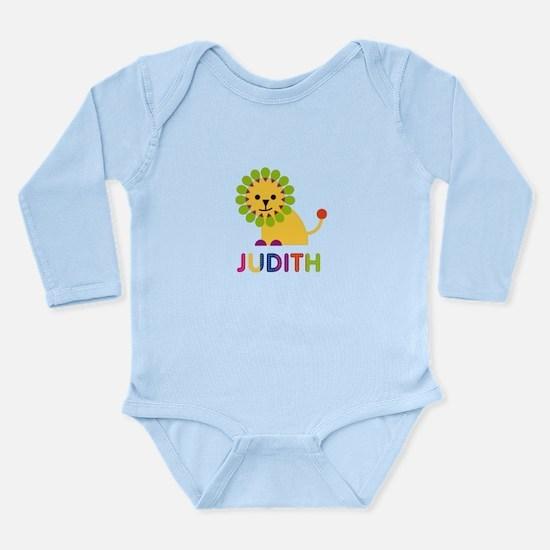 Judith the Lion Long Sleeve Infant Bodysuit
