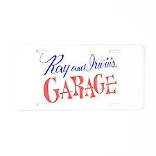Cute Marvin Aluminum License Plate