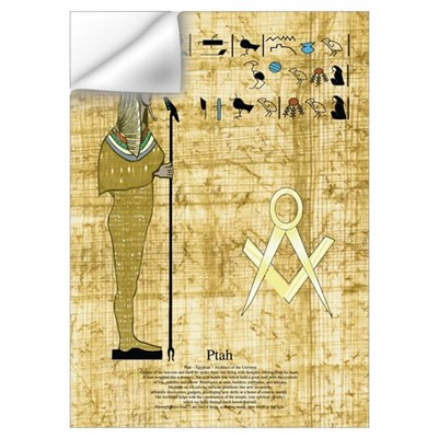 Egyptian God Wall Decal