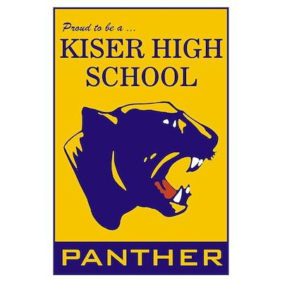 Large Panther Poster