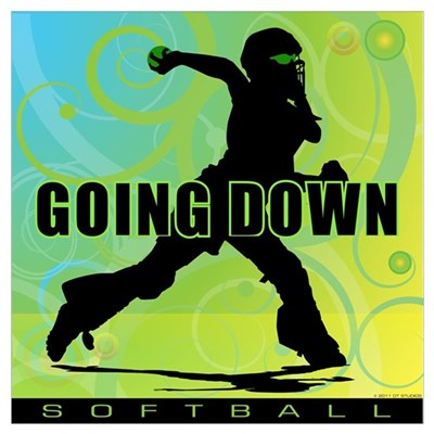 2011 Softball 27 Canvas Art