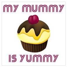 My Mummy Is Yummy Canvas Art
