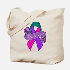 New Thyroid Survivor Tote Bag