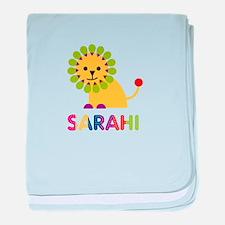 Sarahi the Lion baby blanket