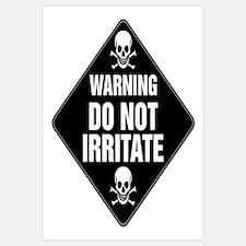 DO NOT IRRITATE Warning Sign
