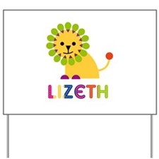 Lizeth the Lion Yard Sign