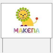 Makena the Lion Yard Sign