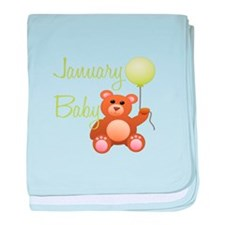January Baby baby blanket